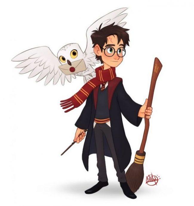Картинки для срисовки Гарри Поттер (30 фото)