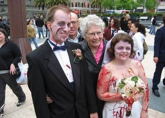 Прикольные картинки про свадьбу (75 фото)
