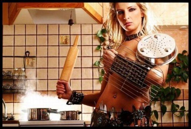 Прикольные картинки про домохозяйку (35 фото)