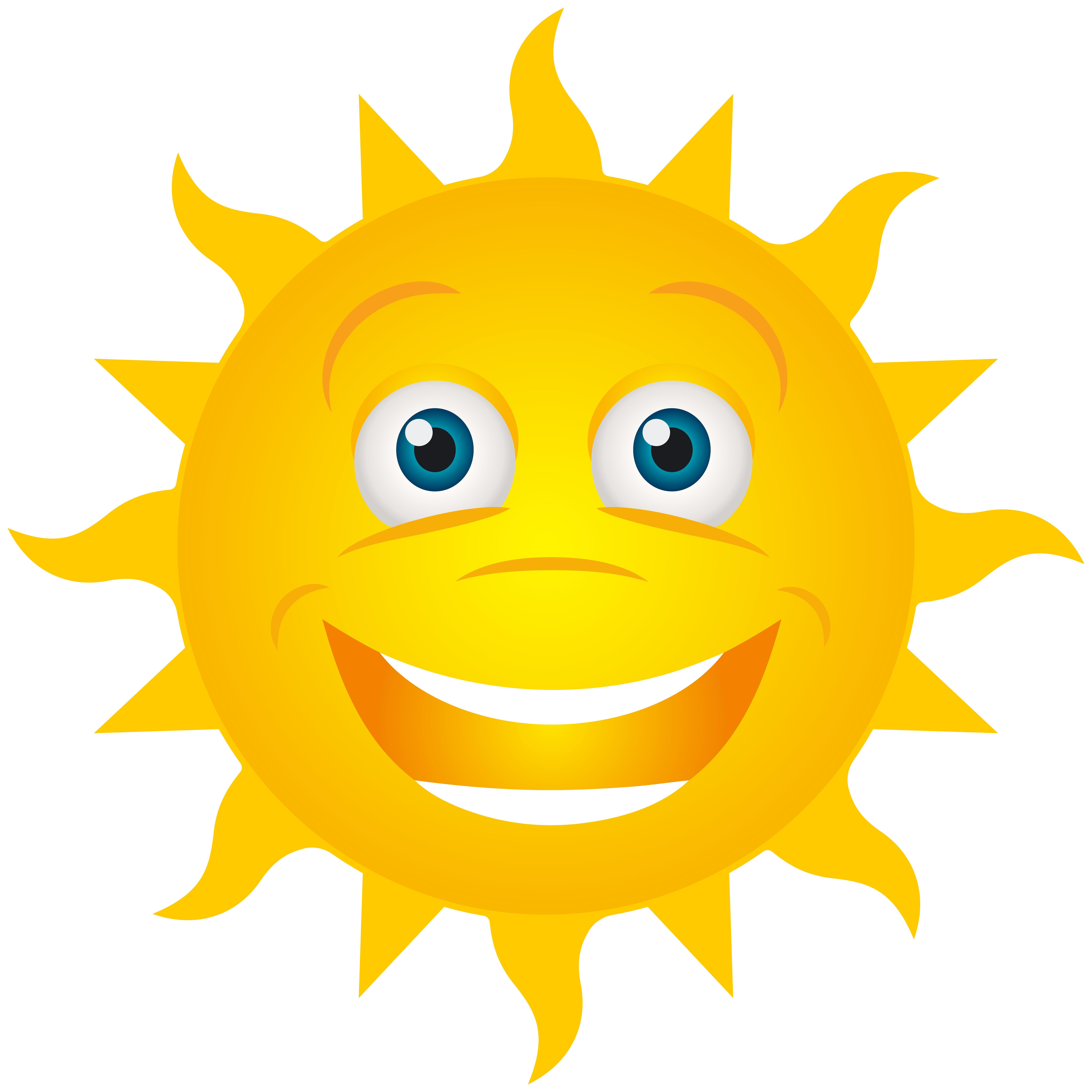 Смешные картинки солнца, днем