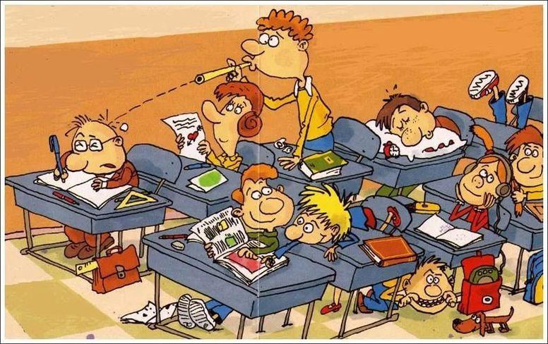 Прикольное открытки с днем учителя