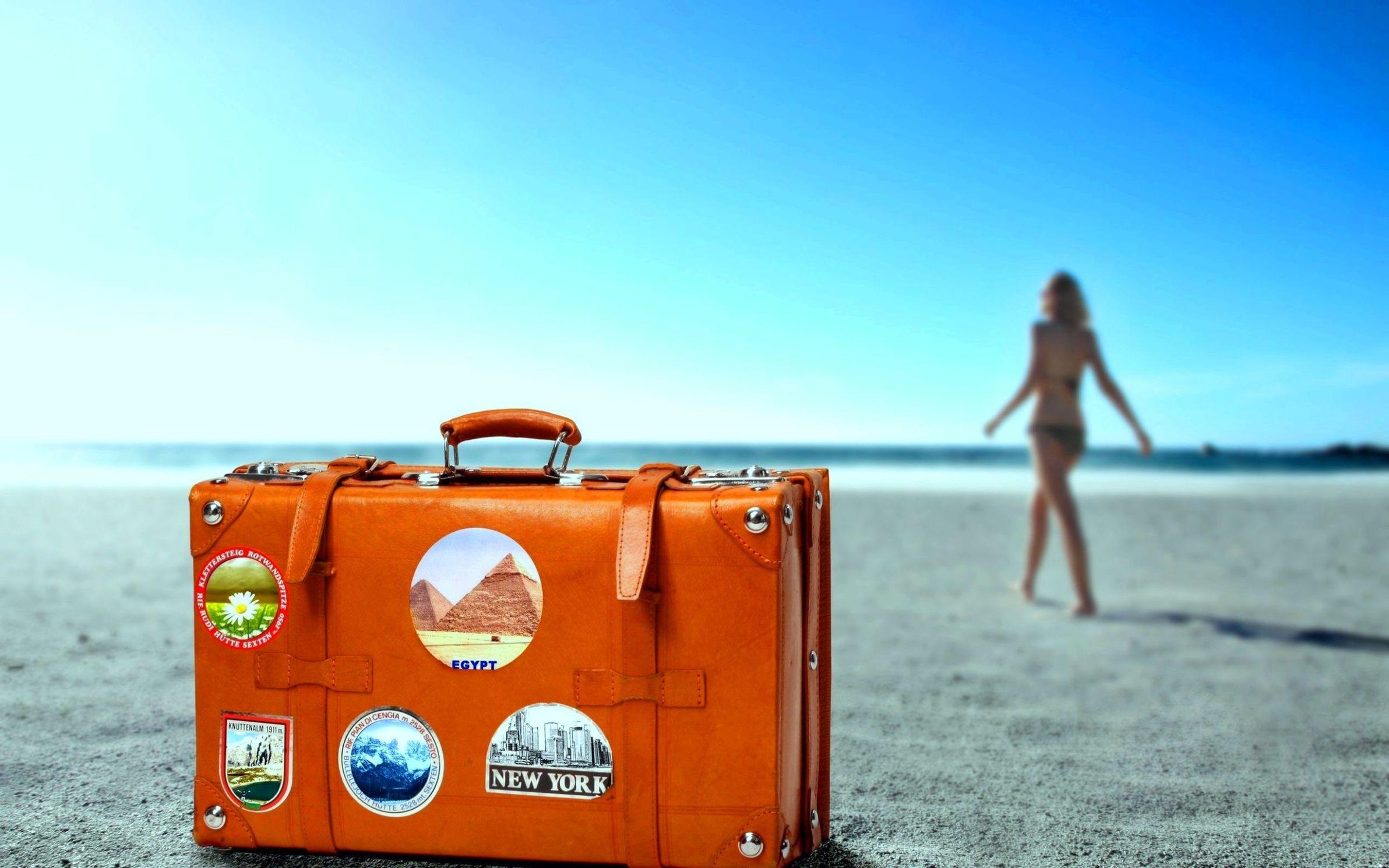 картинка веселый чемодан моем