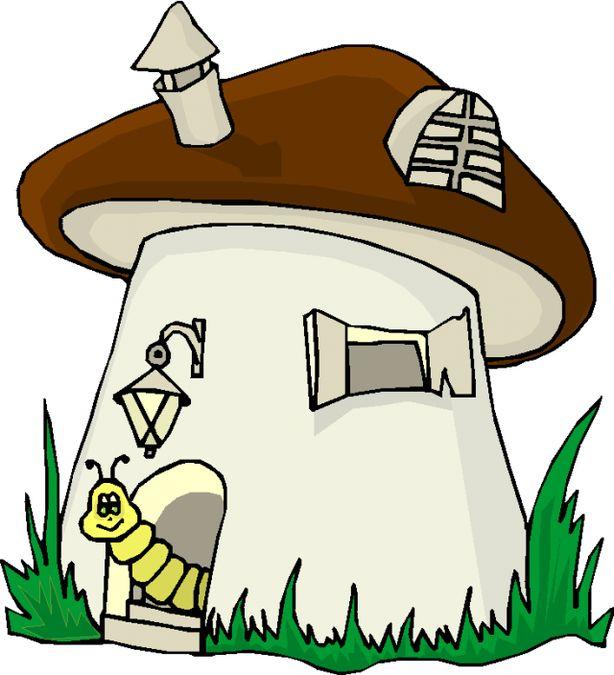Смешные рисунки грибов