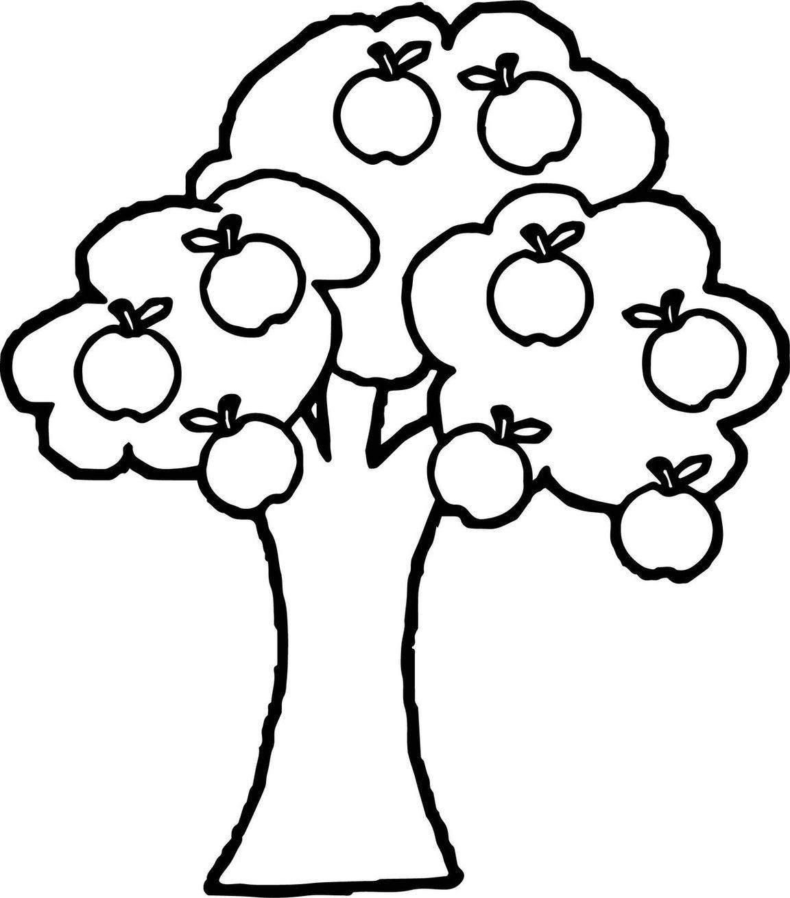 каждая деревья для раскрашивания детям дерево дождя, посох