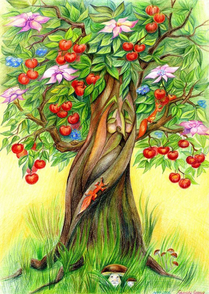 большинстве сказочные деревья картинки фото вместе