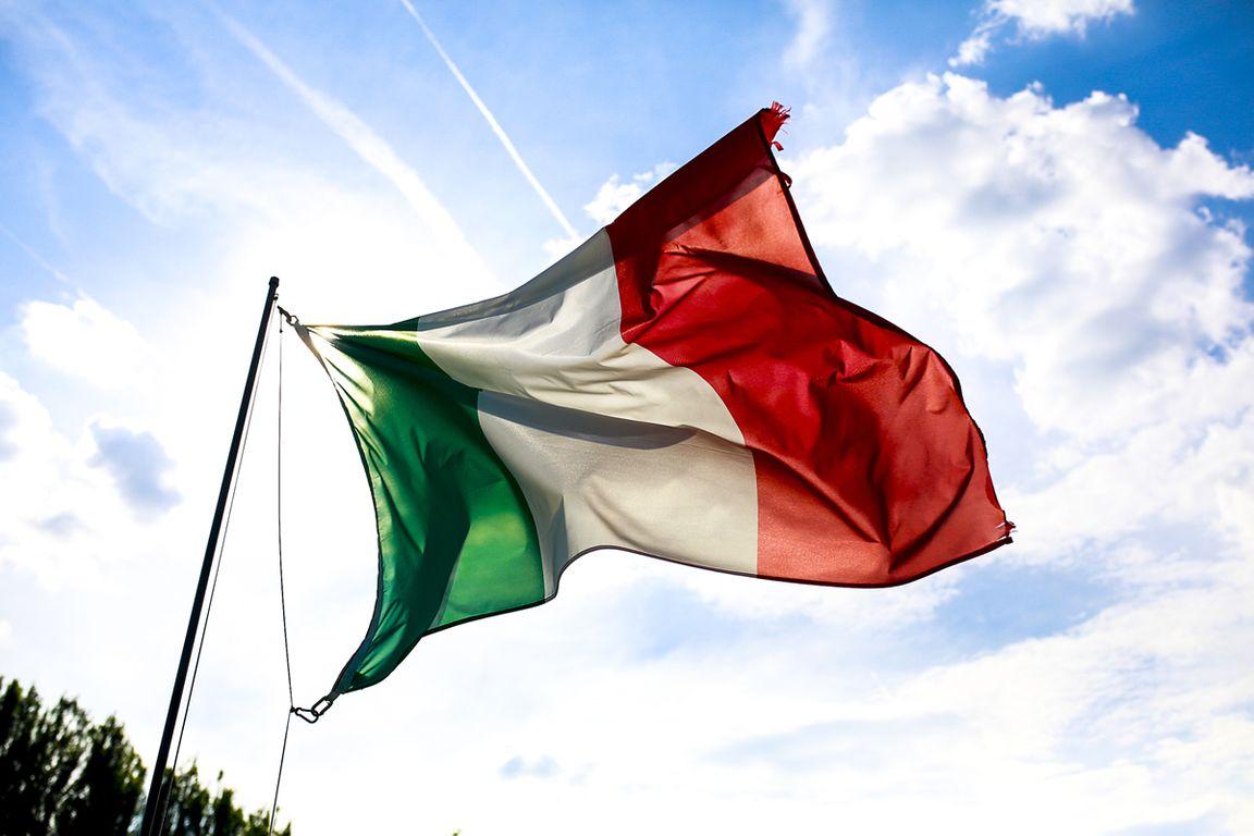 картинка флаг италии