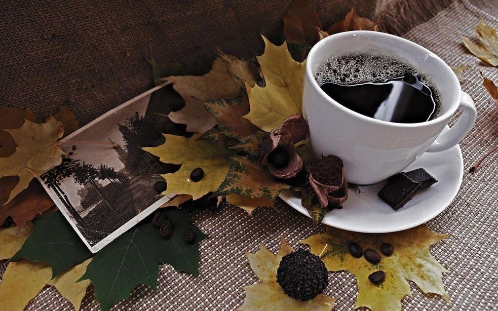 картинки осень кофе и шоколад работы шведского мастера