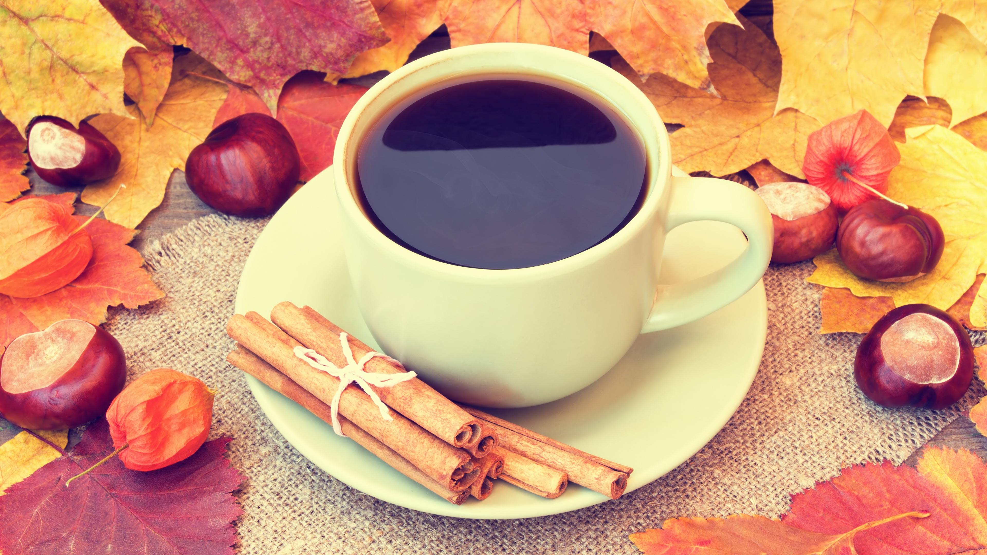 картинки осень кофе и шоколад потолки квартире всего