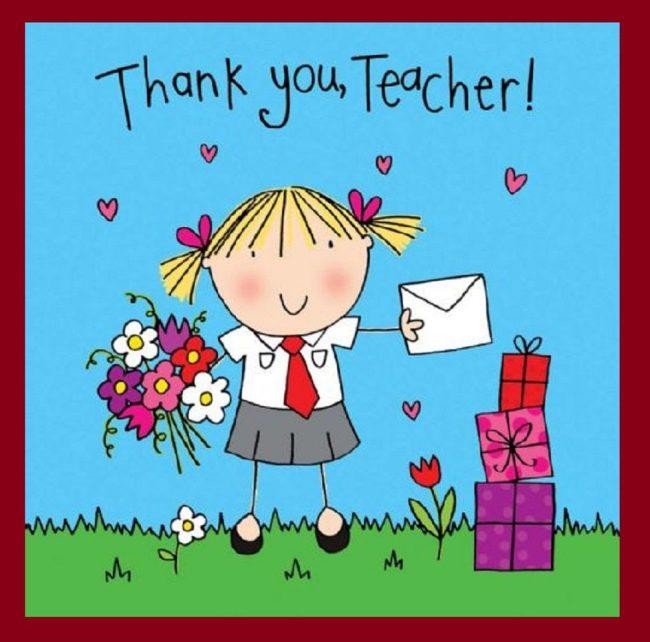 Открытка, поздравления с днем учителя в картинках на английском