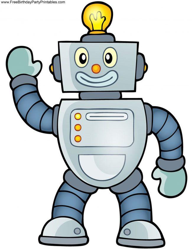 роботы рисунок цветной станице константиновской