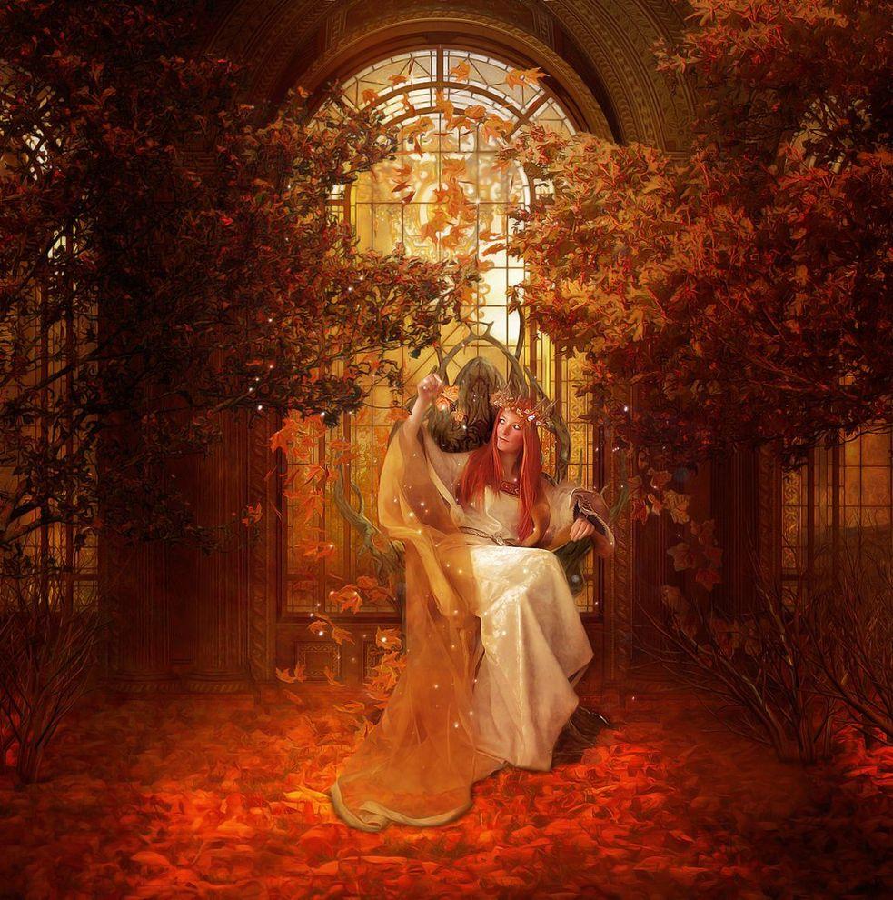 Картинки король и королева осени