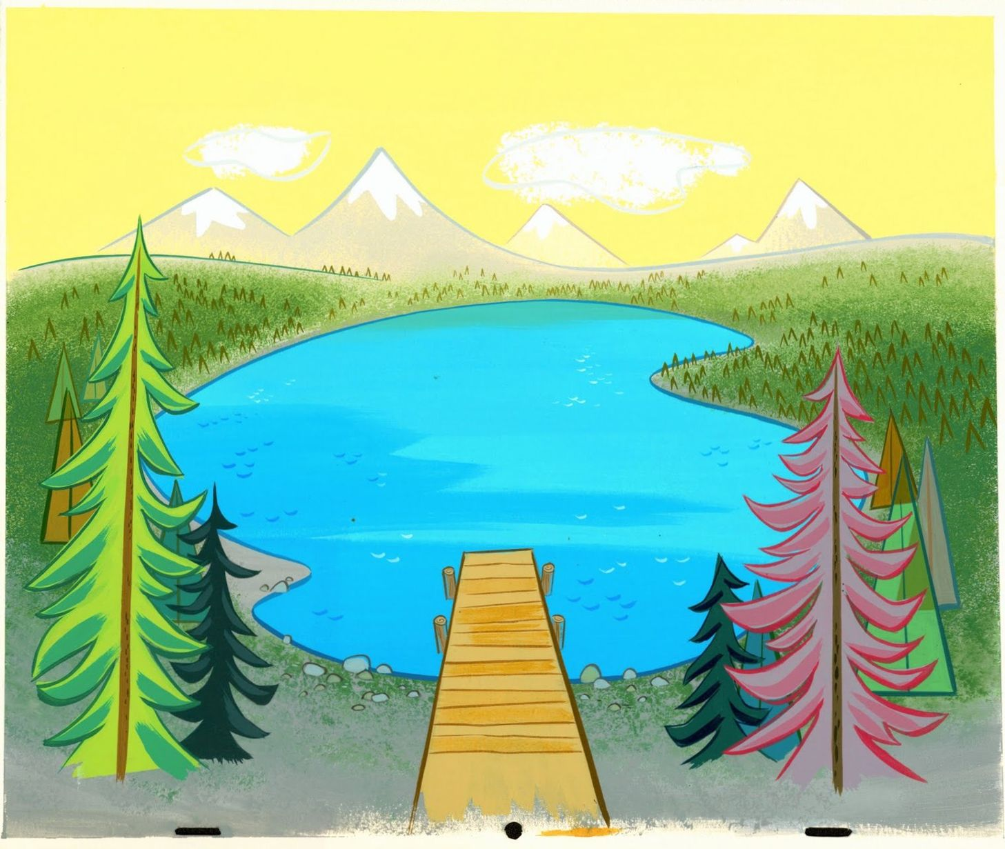 Озера картинки и рисунки