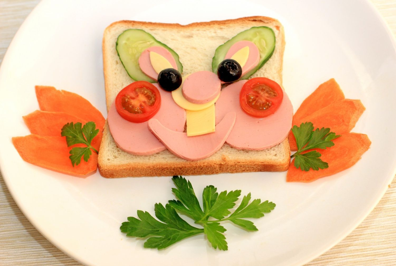Днем, смешная закуска в картинках