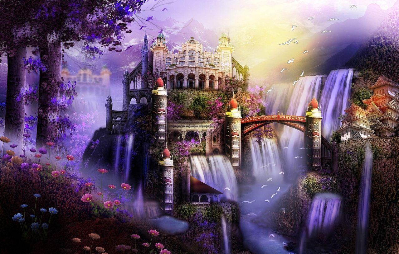Картинки город волшебства