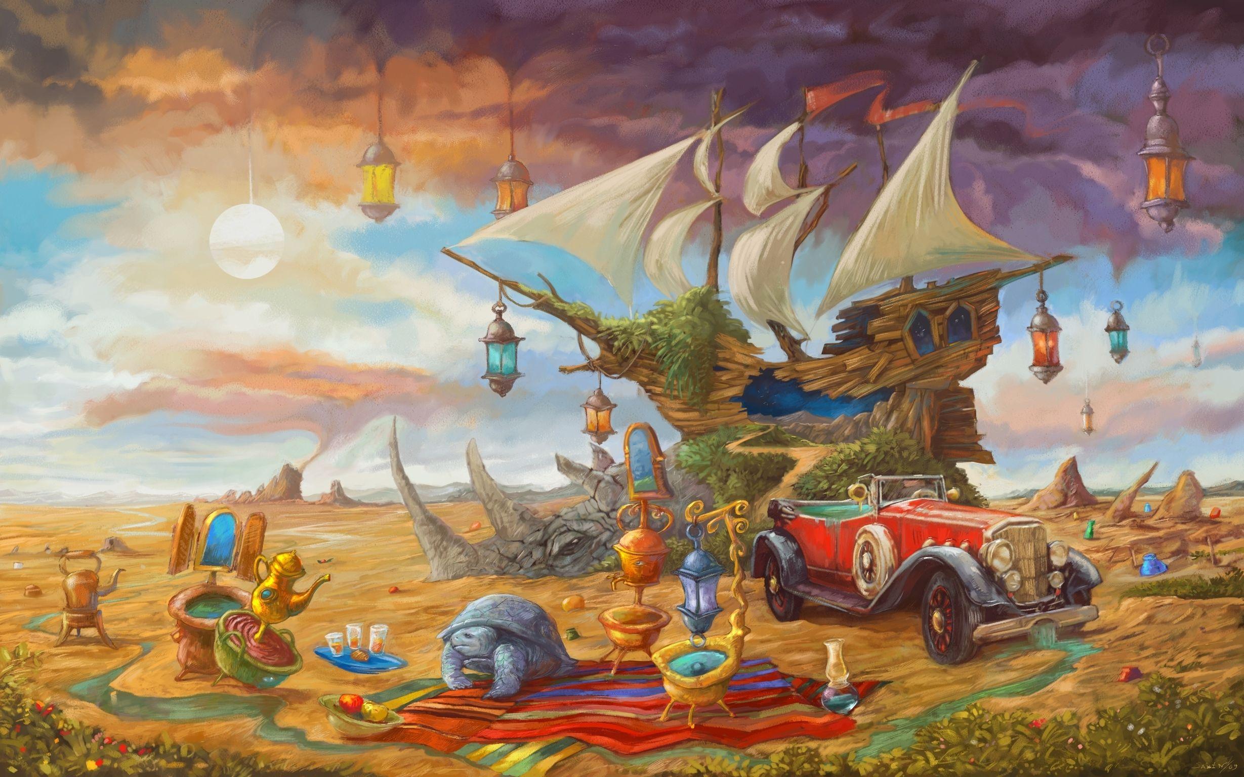 фантастические сказочные миры картинки крыльев