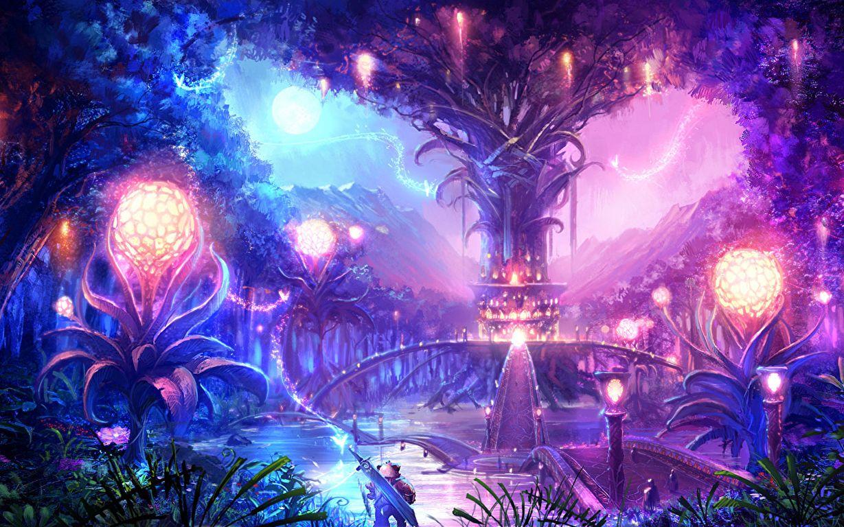 Картинки волшебных фэнтези