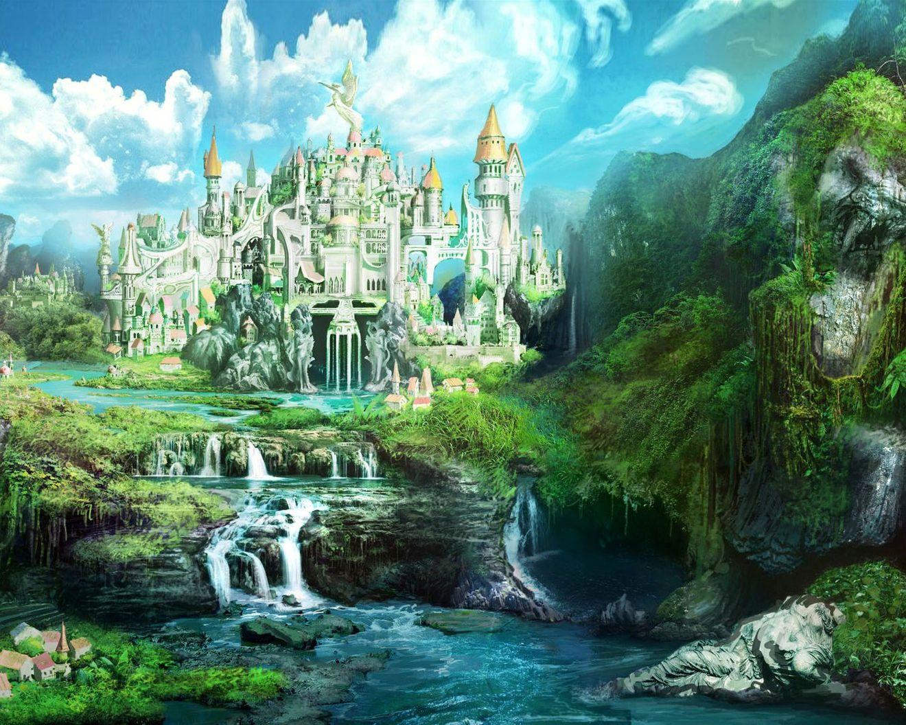 Дворец как гора картинки