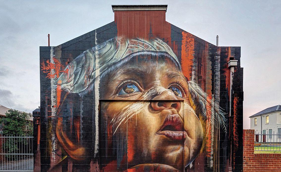 Самые крутые граффити в мире фото