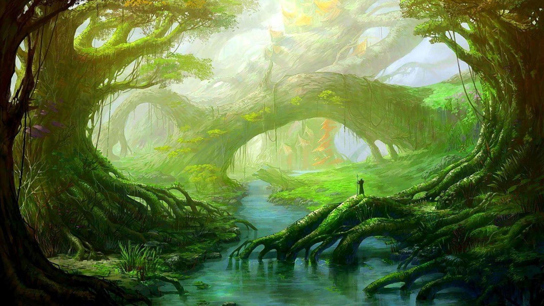 Красивые картинки природа фэнтези