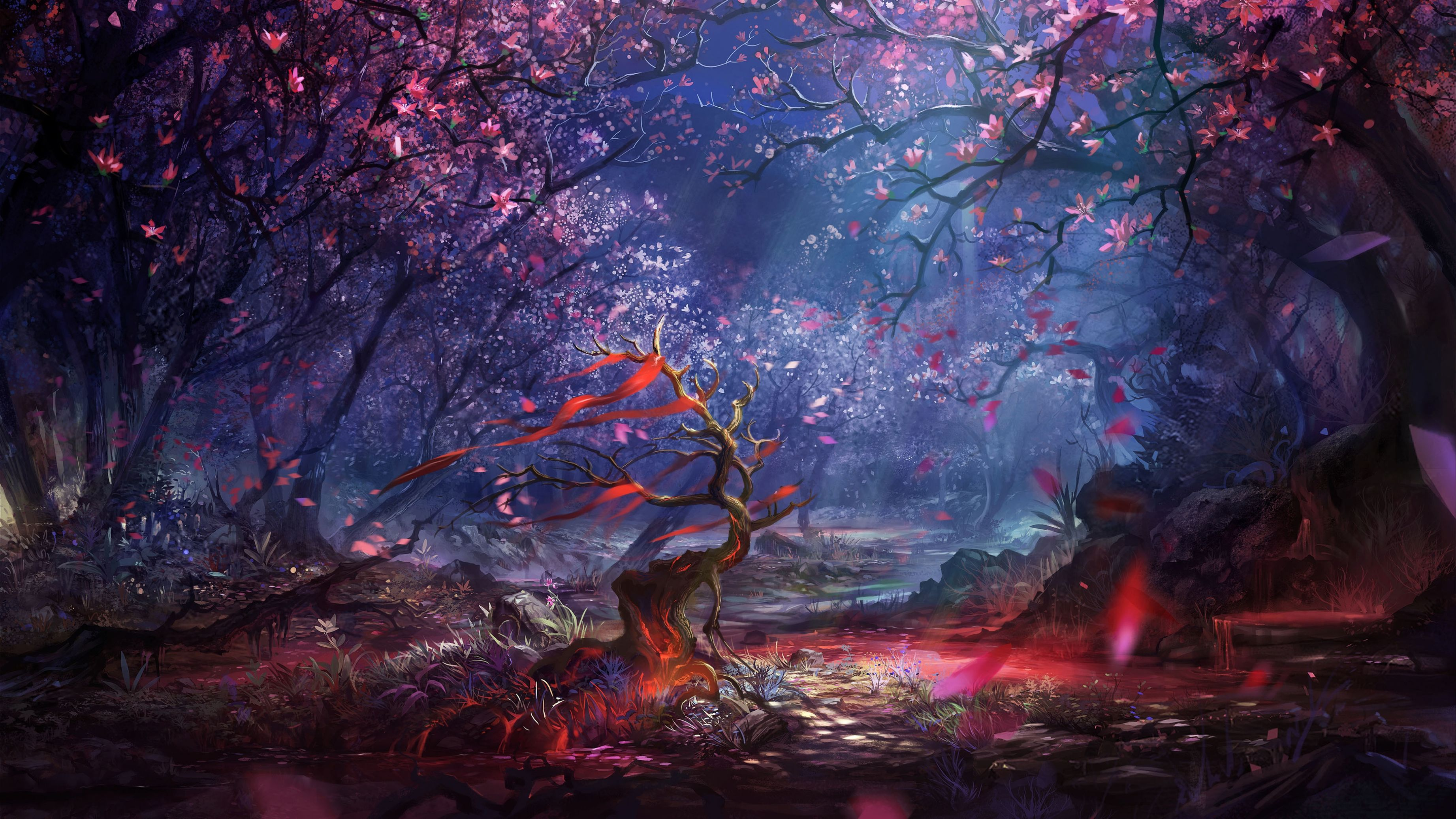 Яркие картинки природы арт