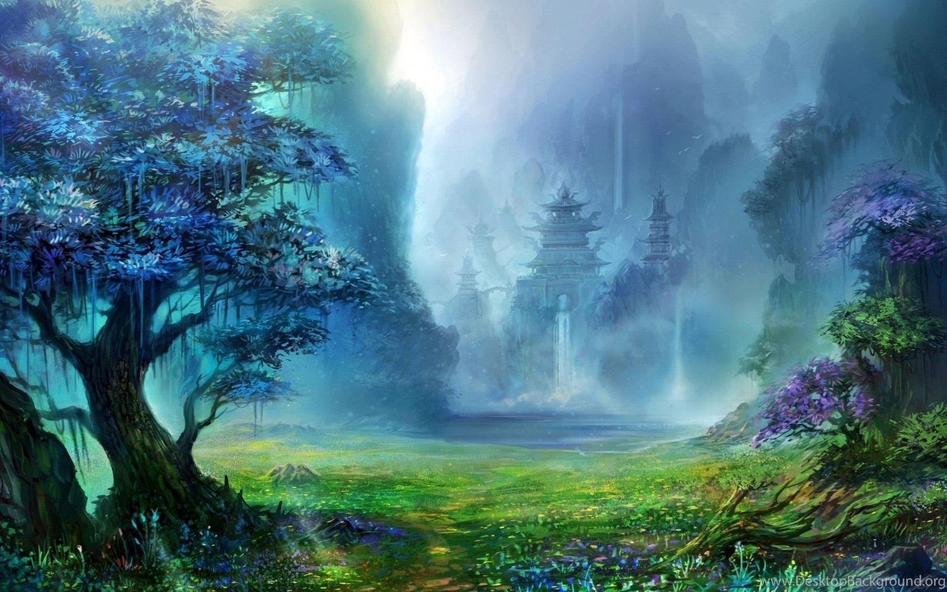 Сказочный лес картинки для рабочего стола