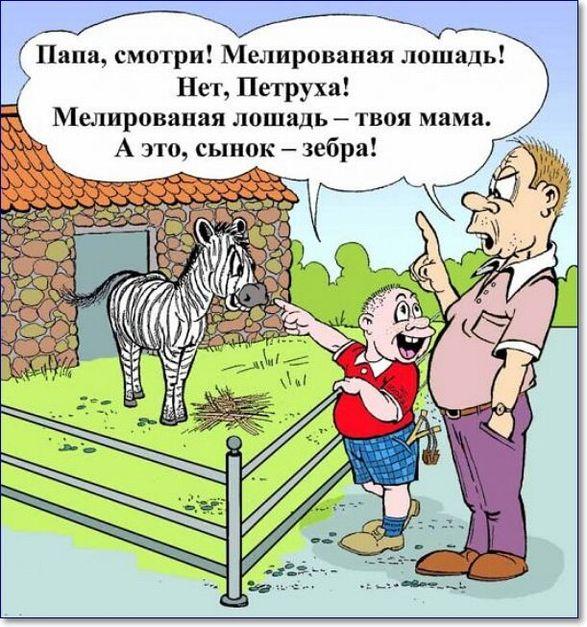 Анекдоты для детей самые смешные с картинками