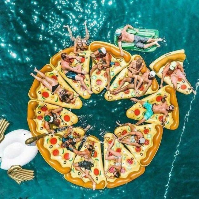 Картинка пиццы смешные