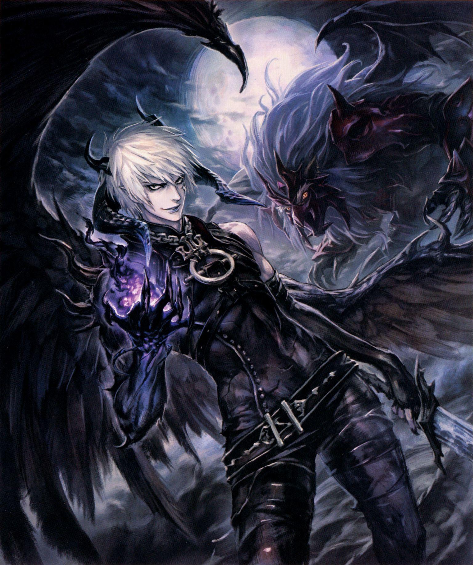 Картинка аниме демона