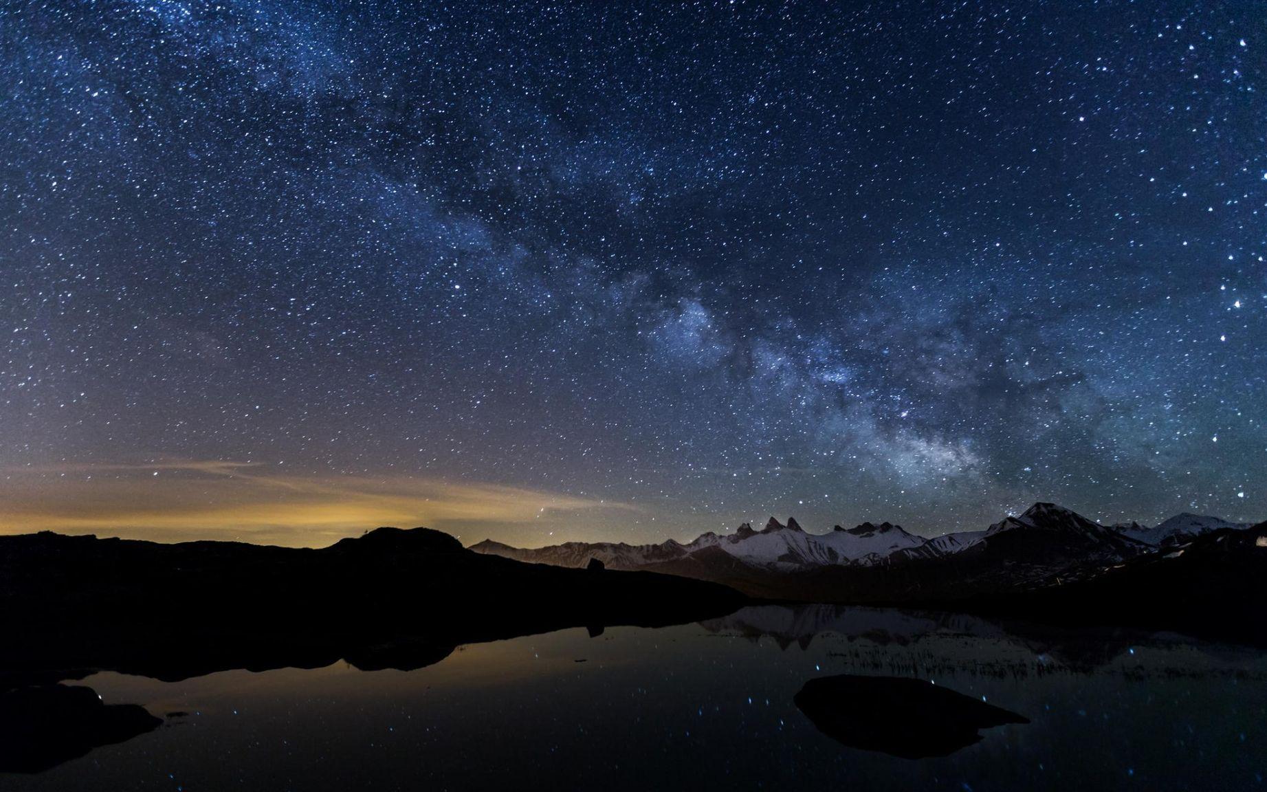 Картинки небо в звездах для рабочего стола