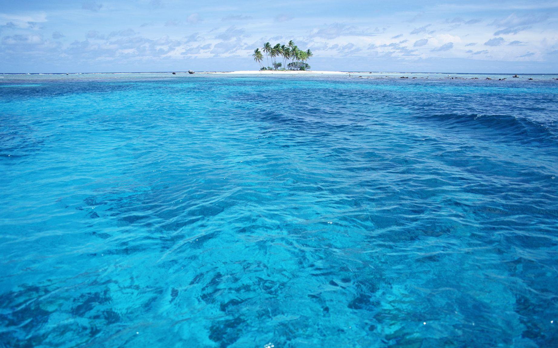 широкоформатные картинки океана него