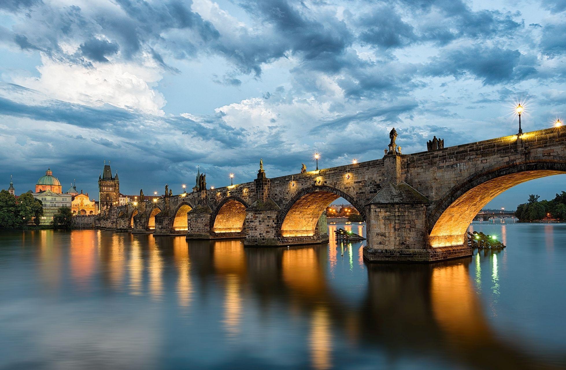 мосты чехии в картинках места планеты