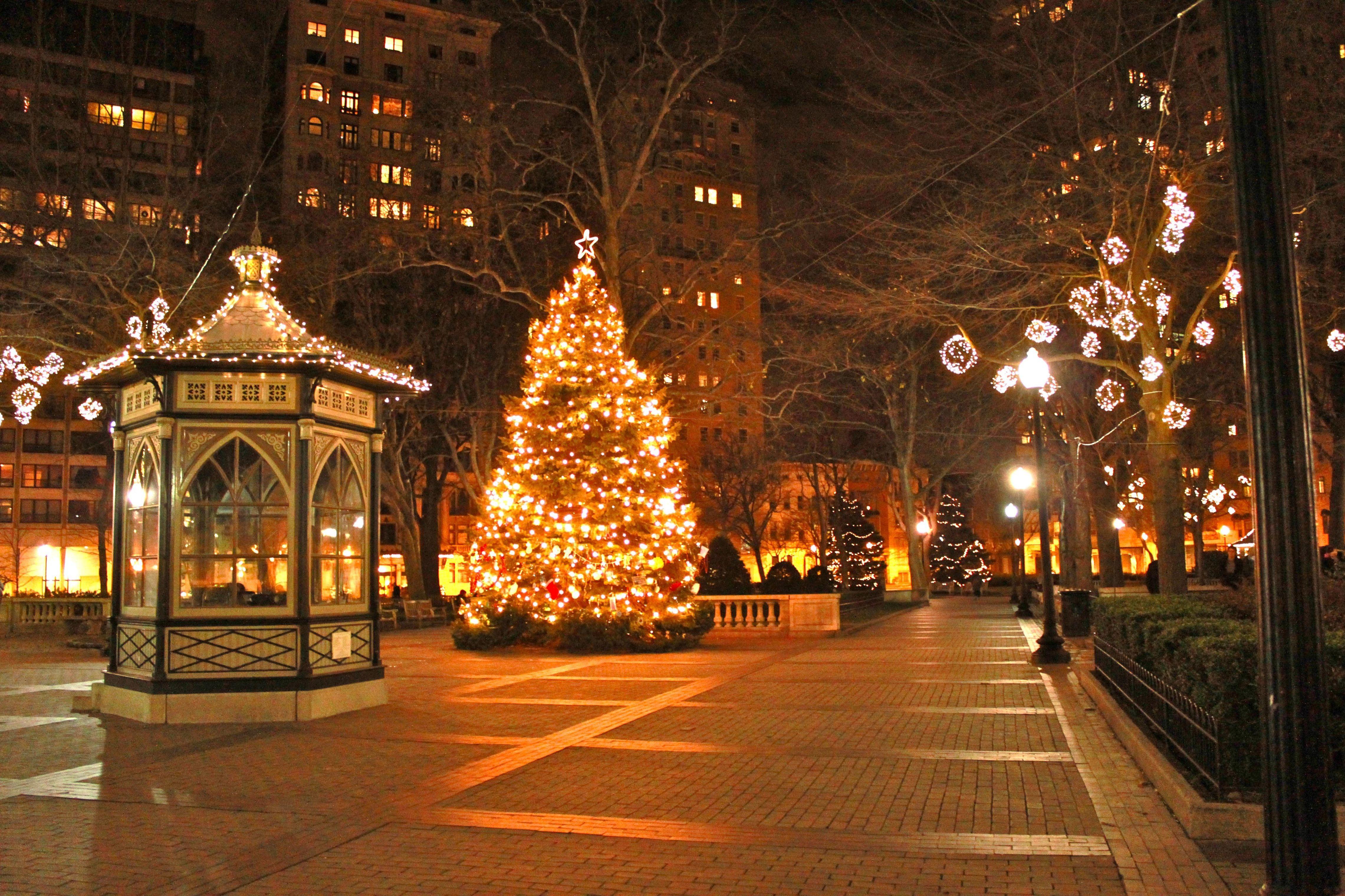 как раз картинки зима город новый год северном полюсе это