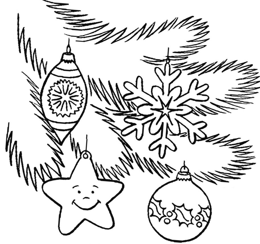 Новый год картинки для срисовки карандашом