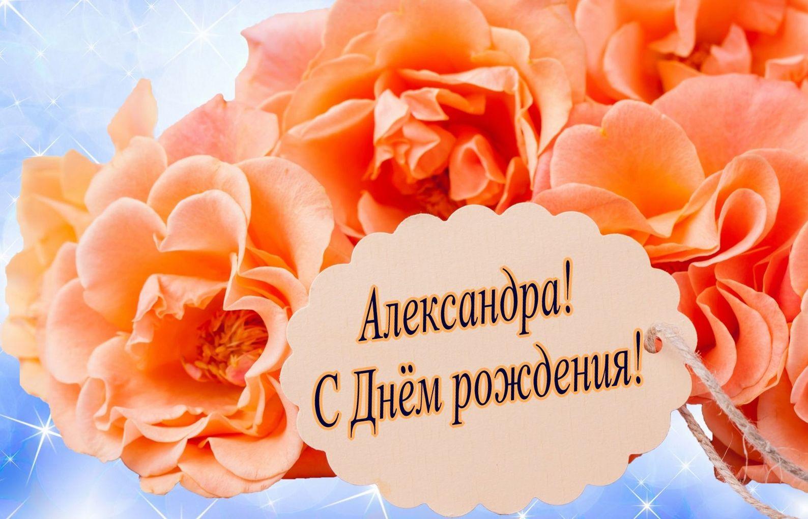 Поздравления с днем рождения александре от мамы