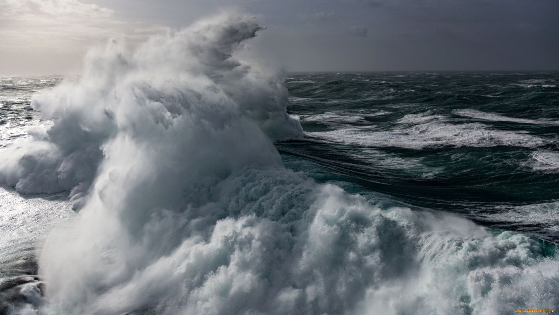 океан в шторм фото тук туки