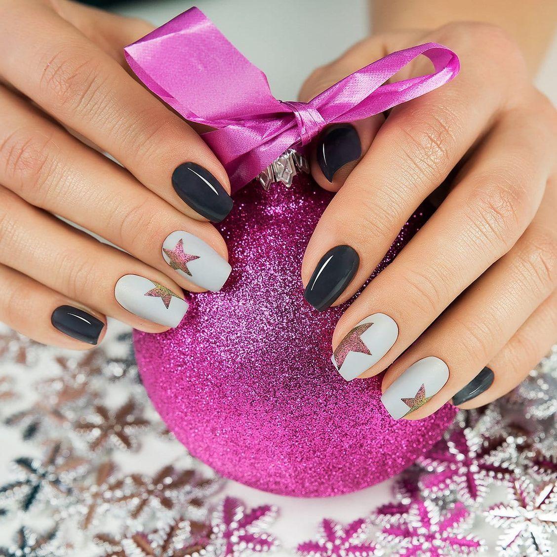 Покраска ногтей гель лаком фото